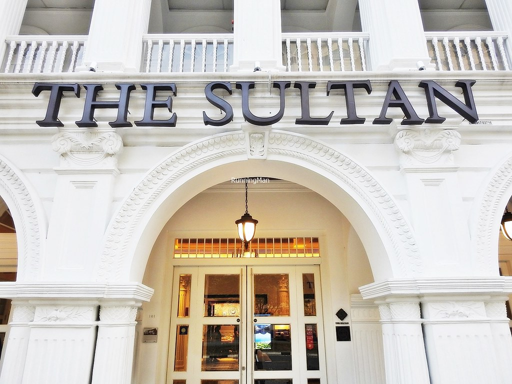 The Sultan Hotel Signage