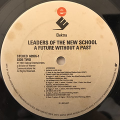 LEADERS OF NEWSCHOOL:A FUTURE WITHOUT A PAST...(LABEL SIDE-B)