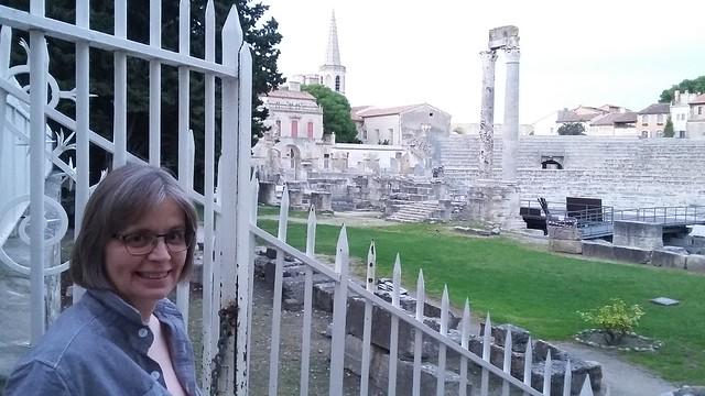 Alison in Arles