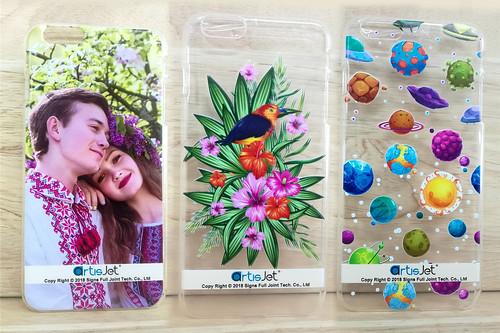 UV printing on TPU phone case