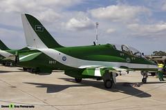 8817 - 6Y002 - Saudi Hawks - Royal Saudi Air Force - British Aerospace Hawk 65A - Luqa Malta 2017 - 170923 - Steven Gray - IMG_0032