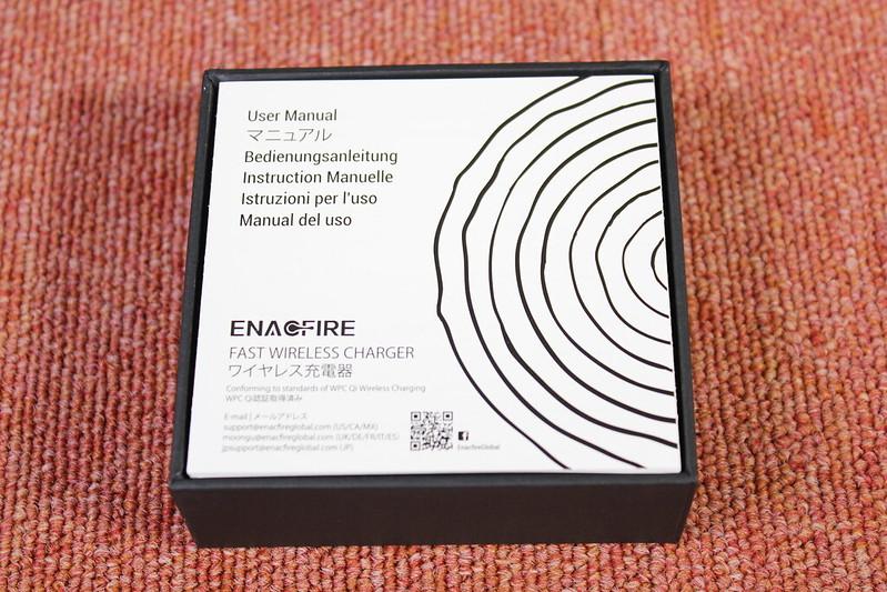 EnafFire Qi充電器 開封レビュー (5)