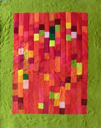 mosaico rosso