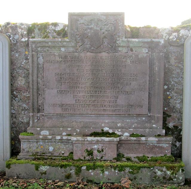 Grave Inscription, Crichton Collegiate Kirk