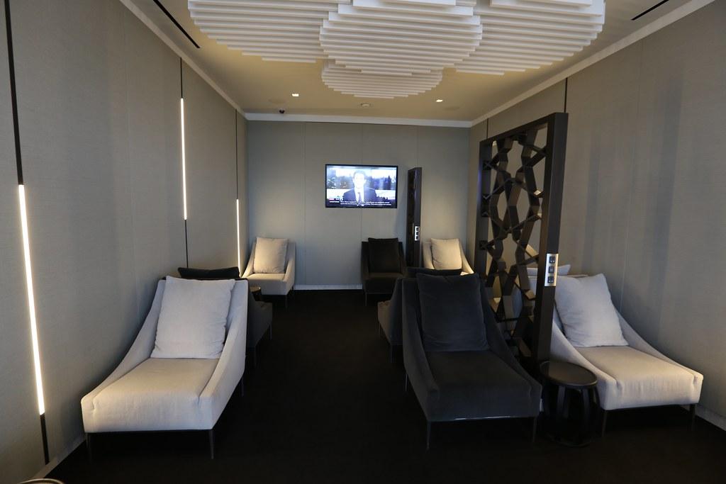 Qatar lounge at Paris CDG 44