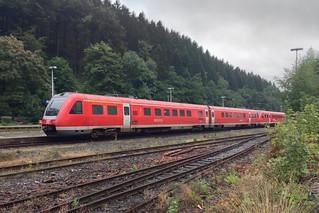 BR 612 048-8, DB AG  - Bahnhof Brilon Wald