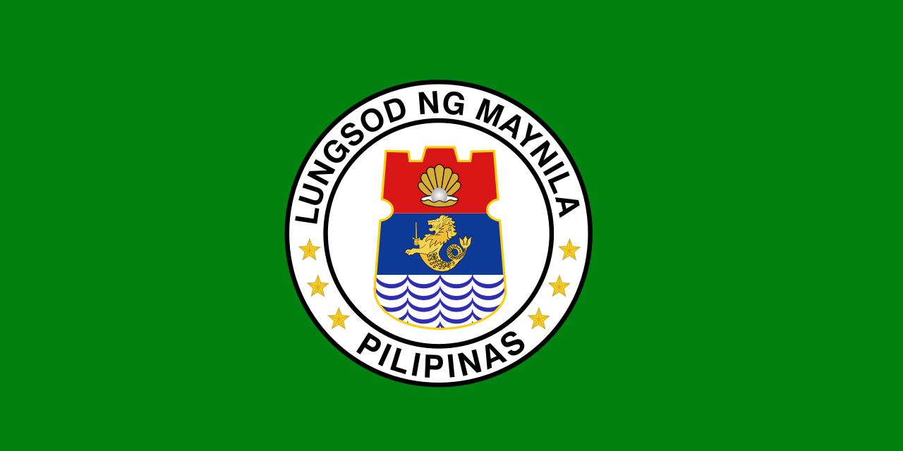 Flag of Manila, Philippines