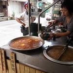 Two-tofu soup in Pingxi