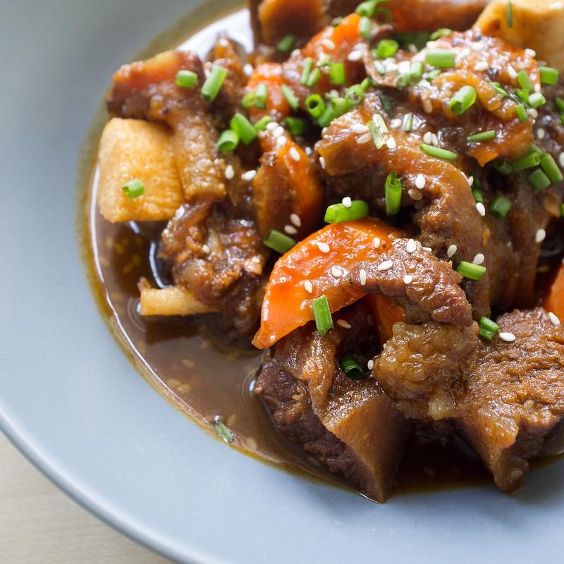 Filipino Style Sweet Korean Beef Stew a la House of Kimchi