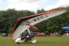 G-MZCJ Solar Wings Pegasus (7572) Popham 140609