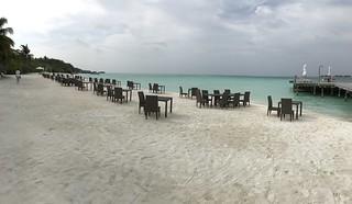 Изображение Beach @ Conrad Malidves Пляж длиной 813 м. dubai maldives 2017
