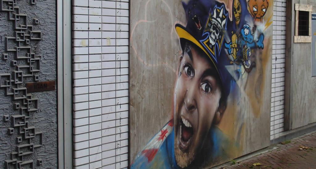 Street art in Leeuwarden, The Netherlands | Your Dutch Guide