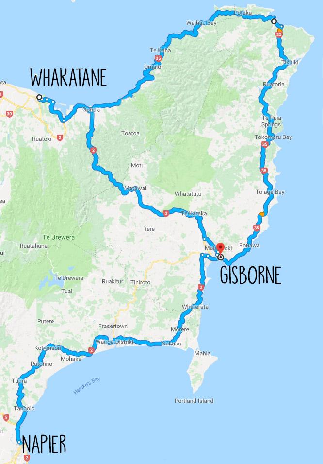 Gisborne, Neuseeland