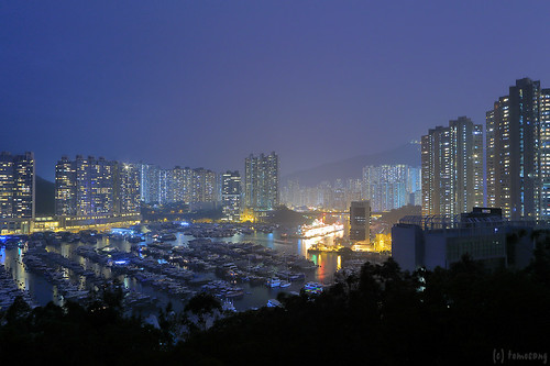Sham Wan at Night
