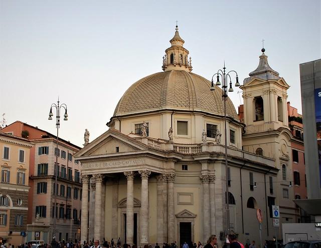 Basílica de Santa María de Montesanto (Roma, Italia, 13-10-2017)