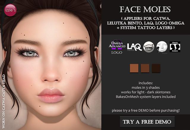 Face Moles (for FLF)
