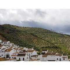 Loving the other side of Andalucia: mountains, villages, dramatic sky, peacefulness and the fresh smell of spring #Andalucia2018 #travelspain