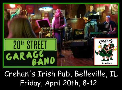 20th Street Garage Band 4-20-18