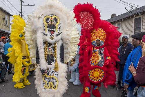 Creole Osceolas during Downtown Super Sunday on April 8, 2018. Photo by Ryan Hodgson-Rigsbee RHRphoto.com