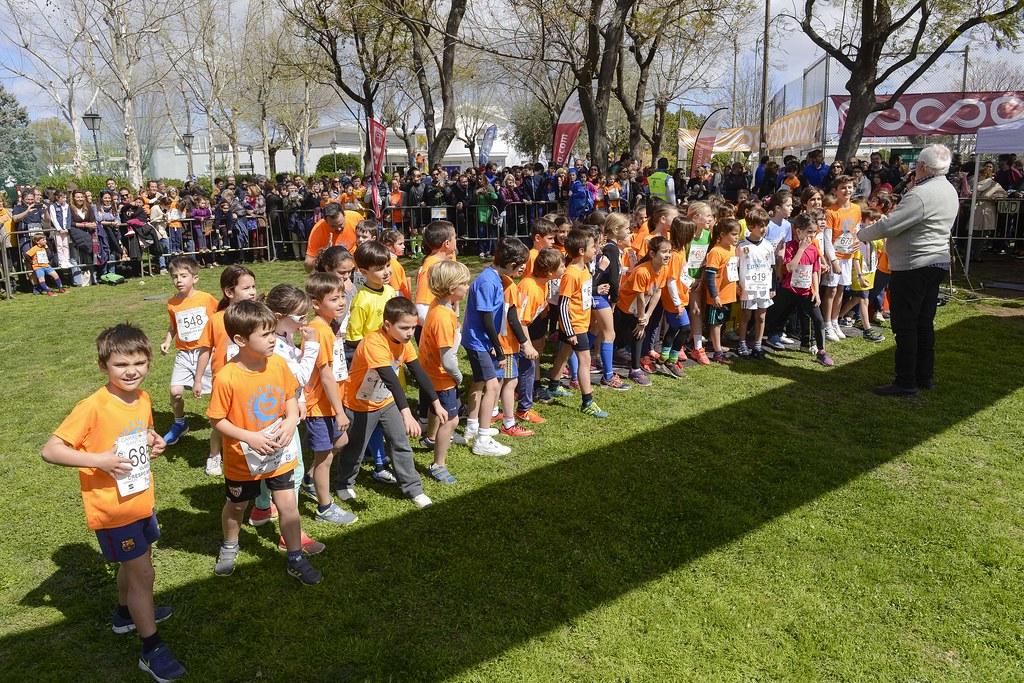 VII Carrera popular, escolar y solidaria Santa Clara Benjamin sub 10