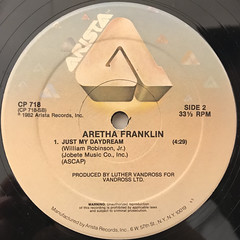 ARETHA FRANKLIN:JUMP TO IT(LABEL SIDE-B)