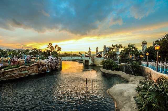 Arabian Coast sunset TDS
