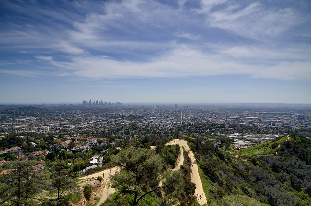 Los Angeles Skyline from Griffith Park
