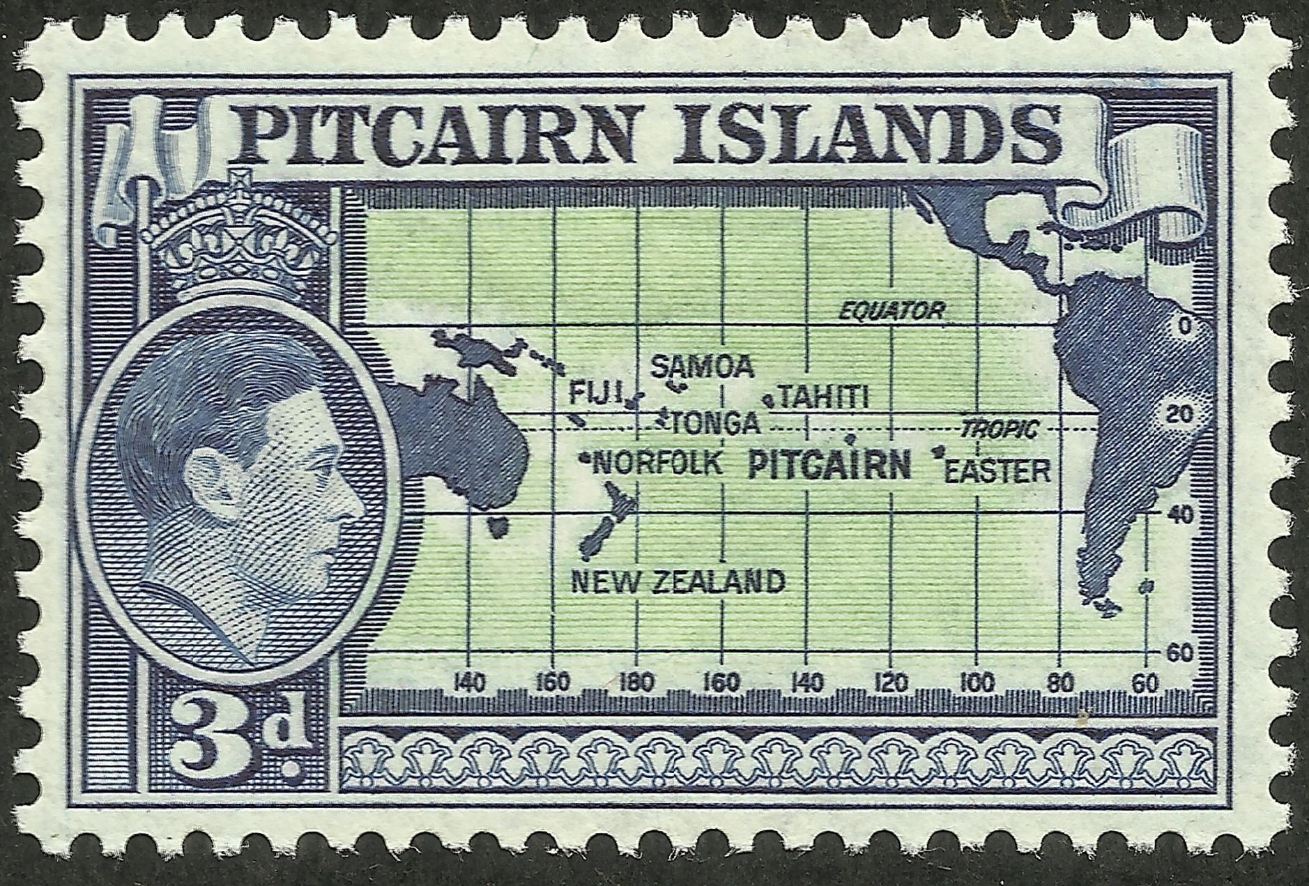Pitcairn Islands - Scott #5 (1940)