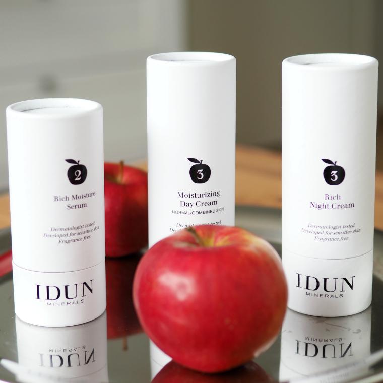 IDUN Minerals seerumi ja kasvovoiteet 2