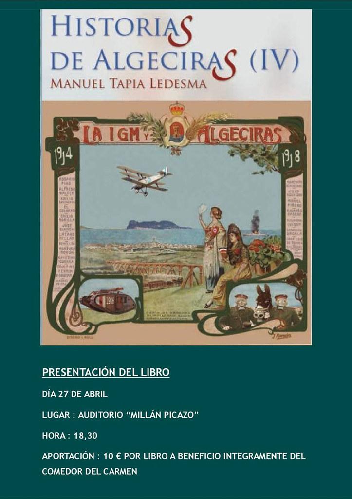 Algecirasnoticiascomel Próximo Viernes Se Presenta El Libro