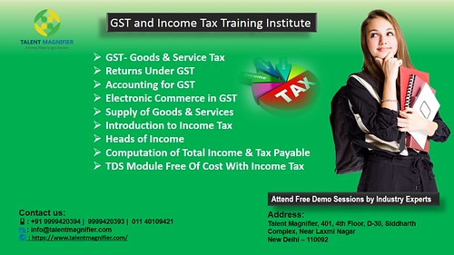 E- Accounts & Income Tax Training