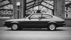 Canon EOS 60D - B&W - Ford Capri 2.8i Injection - 'The Old Warrior'