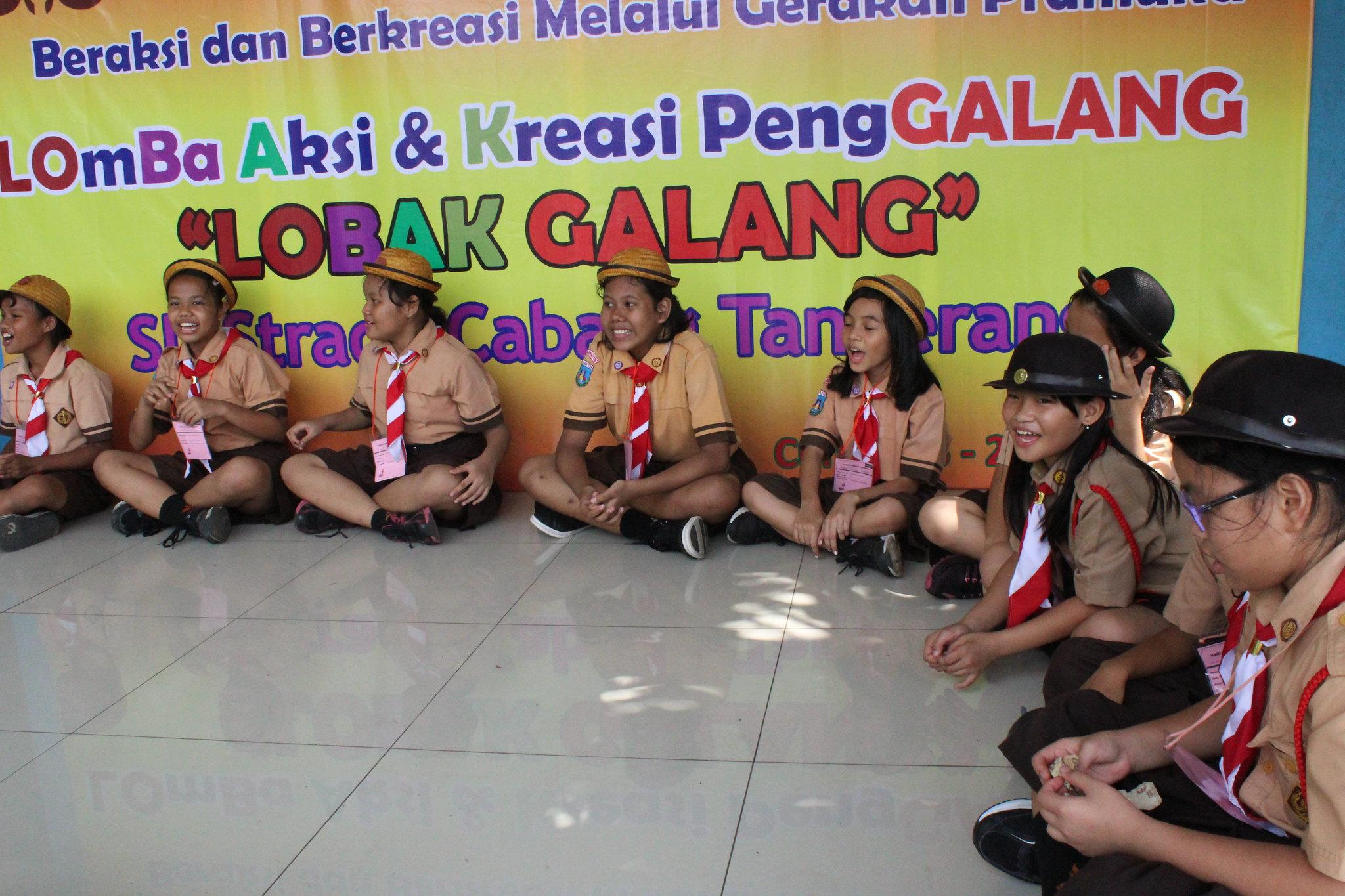 Lomba Aksi dan Kreasi Penggalang (LOBAK GALANG ) SD  Strada Cabang Tangerang