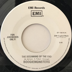 BOOGIEMONSTERS:THE BEGINNING OF THE END(LABEL SIDE-A)