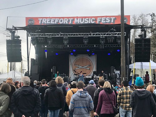 Lido Pimienta @ Treefort Music Fest 2018, Main Stage, Boise, ID, 23 March 2018