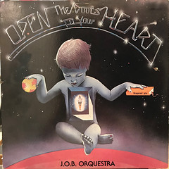 J.O.B. ORQUESTRA:OPEN THE DOOR TO YOUR HEART(JACKET A)