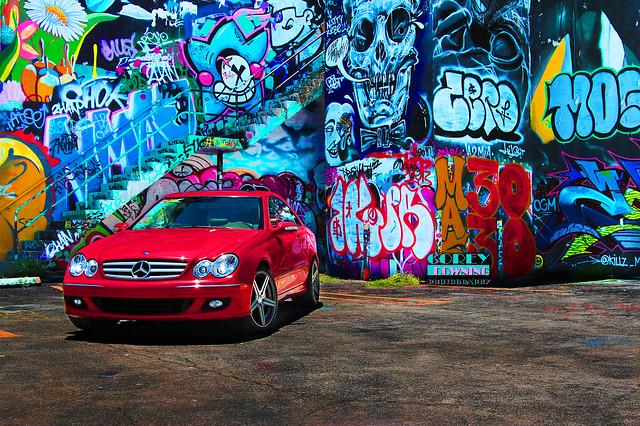 Mandrus Estrella on Mercedes-Benz CLK-Class