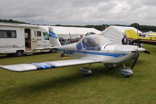G-ICMT Evektor EV-97 (PFA 315-14598) Popham 030808