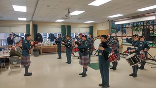07 Apr 18 Pipes and Drums Spaghetti Dinner
