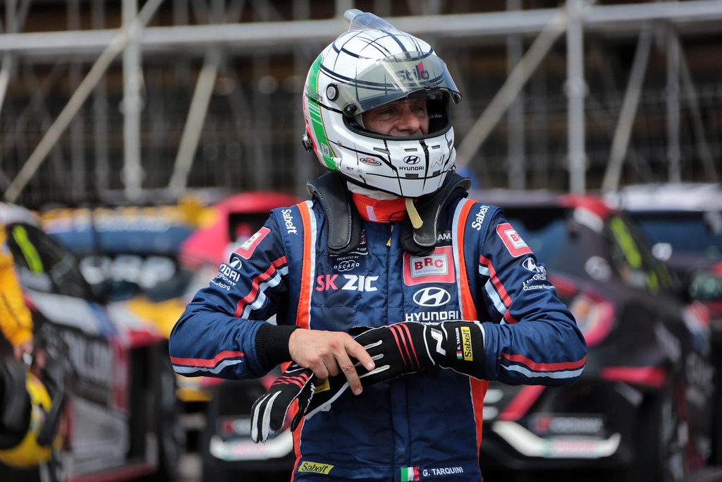 TARQUINI Gabriele (ITA), BRC Racing Team, Hyundai i30 N TCR, portrait during the 2018 FIA WTCR World Touring Car  Cup Race of Morocco at Marrakech, from April 7 to 8th - Photo Paulo Maria / DPPI