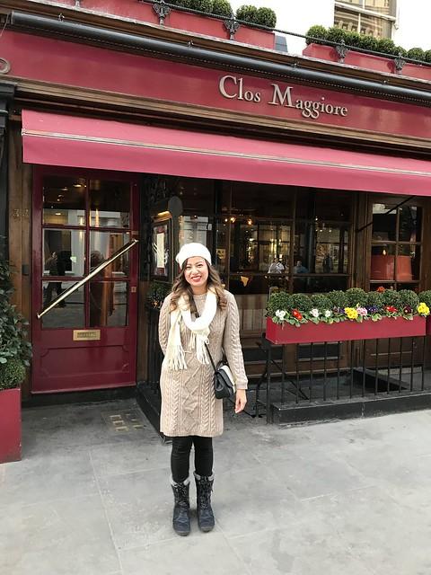 Clos Maggiore Restaurant  London
