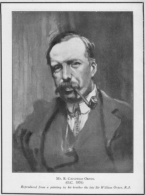 Portrait of Richard Orpen by his brother William.