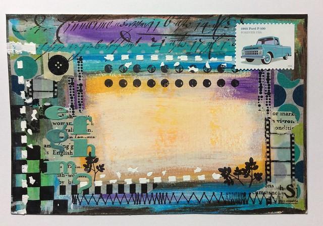 Abstract Art Postcard, Apple iPad Air, iPad Air back camera 3.3mm f/2.4