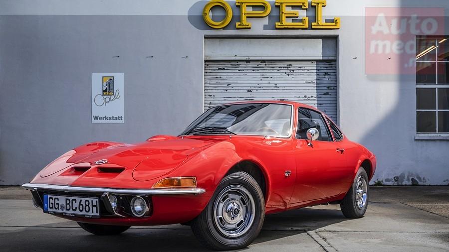 Opel GT istorija 2