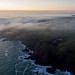 Sea mist rolling over the coast