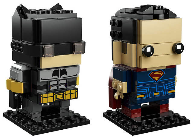 41610 Tactical Batman & Superman Brickheadz