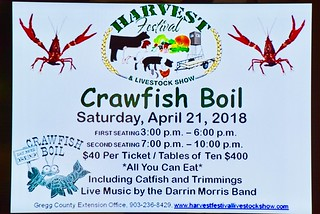 2018 Harvest Festival Crawfish Boil