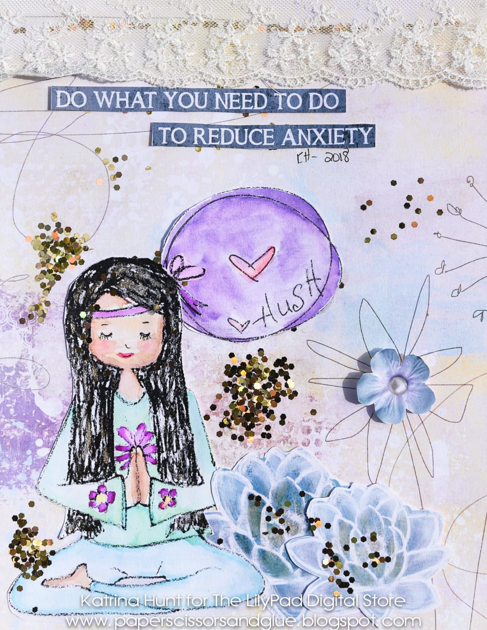 Art Journaling-Let's Try New Things!