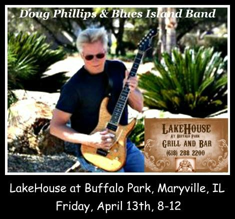 Doug Phillips & Blues Island Band 4-13-18