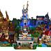 Magic Kingdom LEGO Diorama by LEGDOC